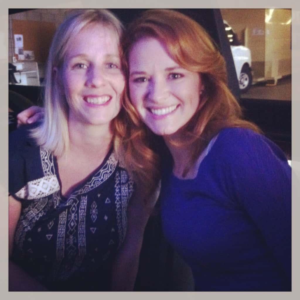 Limo selfie with Sarah!