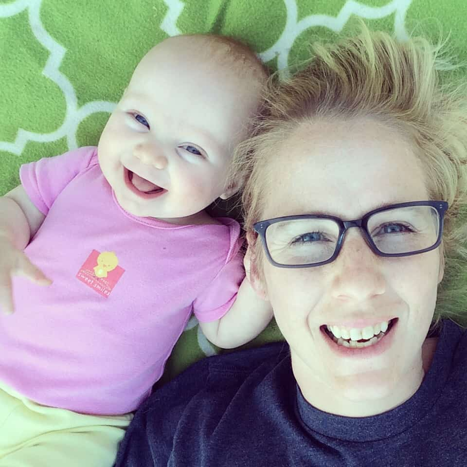 darling girl, postpartum anxiety, warby parker