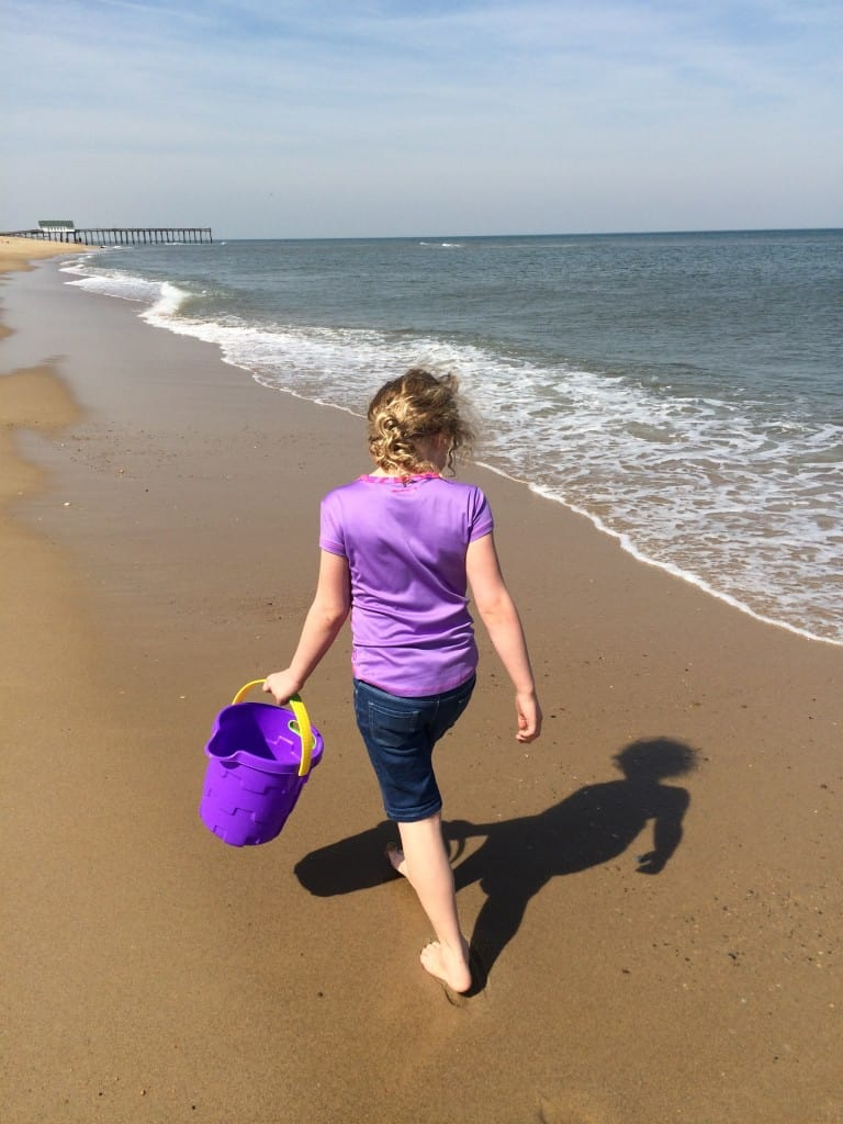 beach, recovery, the J girl, postpartum recovery