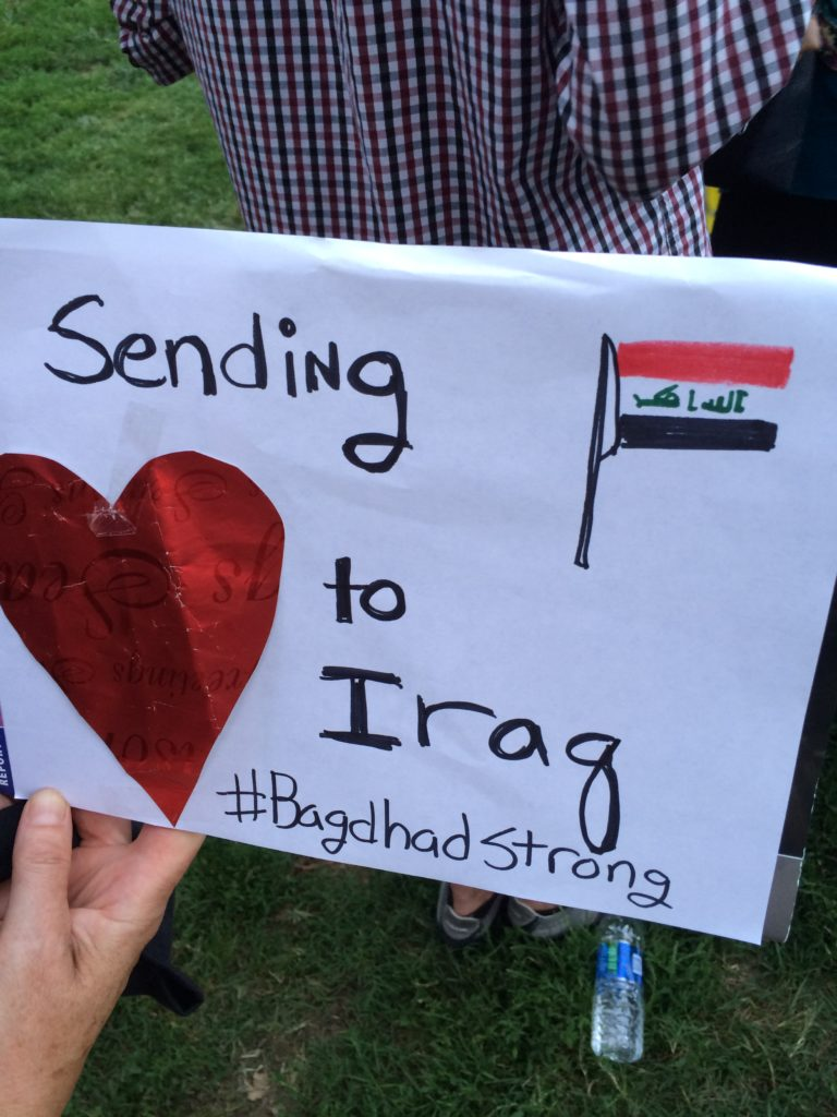 love anyway, baghdad strong, iraq. baghdad vigil, preemptive love coalition