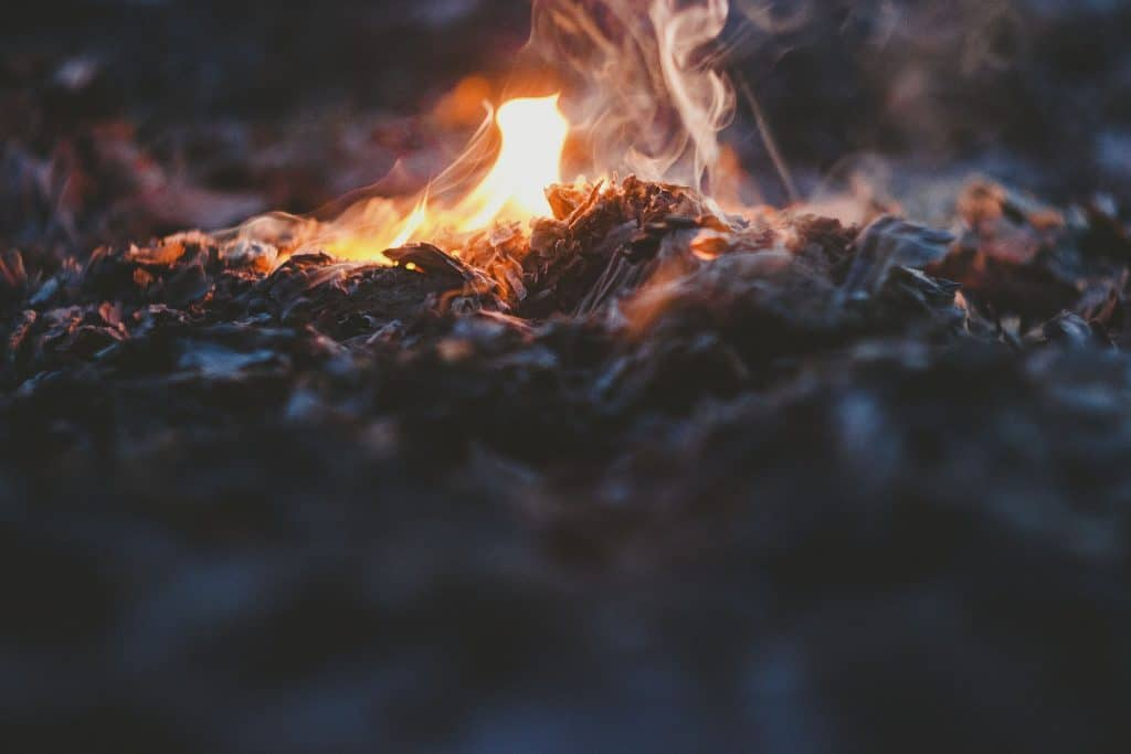 ashes, fire, bonfire