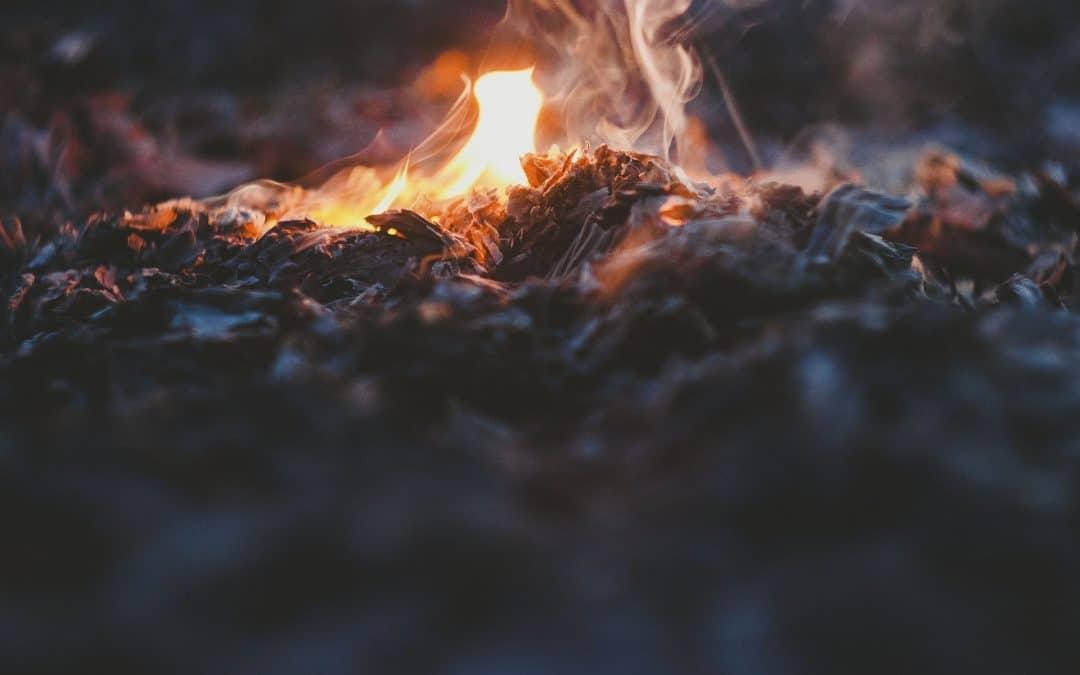 ashes, fire, bonfire